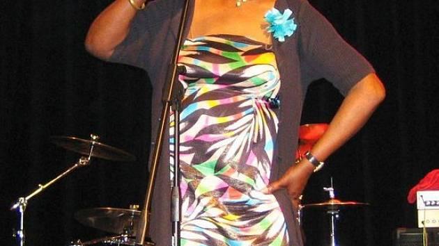 Americká zpěvačka Vera Love.