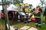 Nehoda u Praseku.