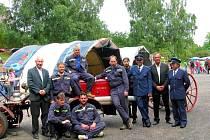 Dobrovolní hasiči ve Vojicích.
