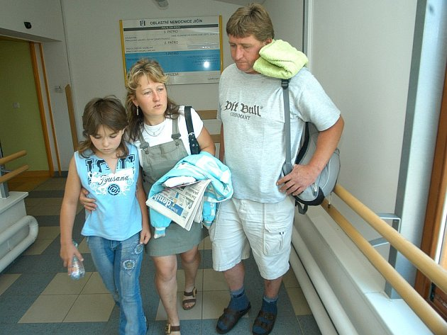 Ivetka Marková s rodiči.