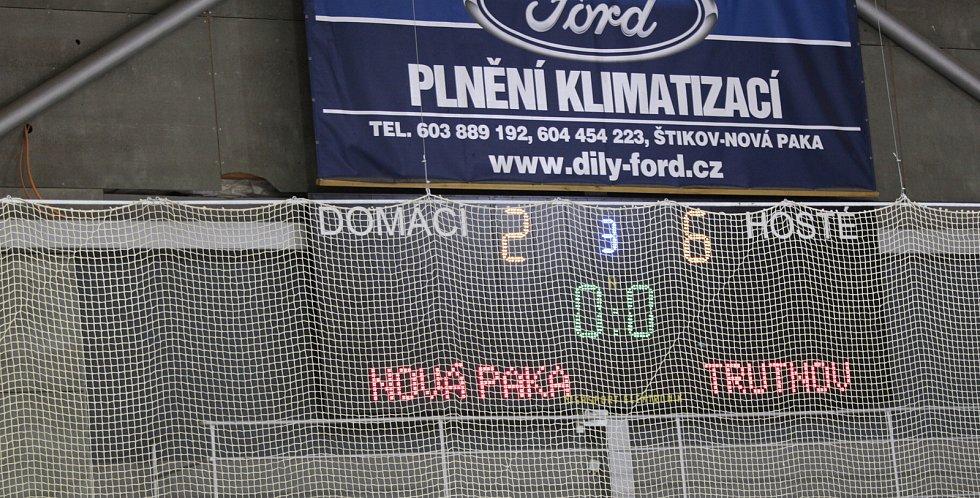 Play off v nedohlednu. Trutnov vyloupil Novou Paku.