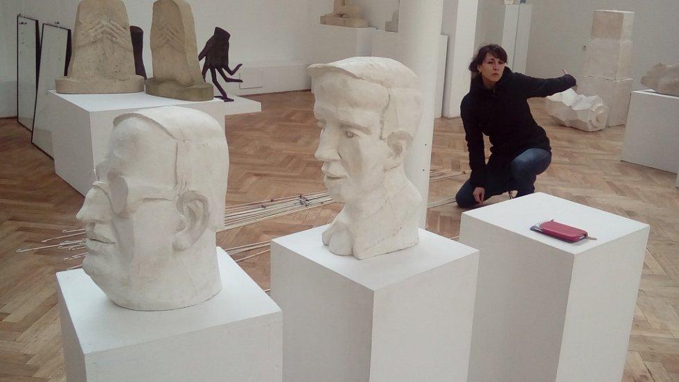 V Hořickém muzeu vystavuje Ellen Jilemnická.