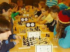 Vánoční šachový turnaj v Kopidlně.
