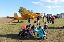 Vokšické letiště patřilo dětem.