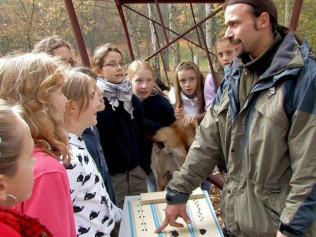 Areál trutnovského lesoparku  hostil Evropský týden lesů.