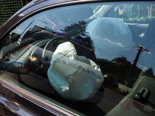 0b0fc291530 Řidič zkoušel airbagy