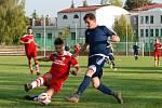 Krajský přebor ve fotbale: Sobotka - Vrchlabí.