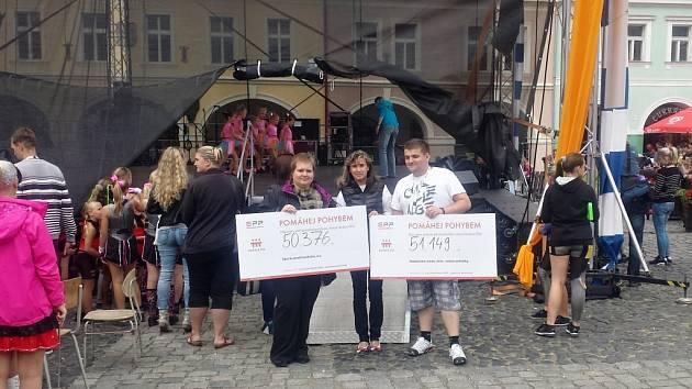Oranžové kolo Nadace ČEZ na festivalu Jičín - město pohádky.