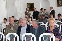Setkání starostů Jičínska v Porotním sále.