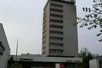 Jičínský hotel Start.