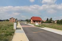 Nová výstavba v Kopidlně.
