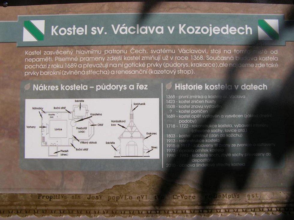 Z putování po naučné stezce Češov - Vysoké Veselí.
