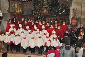 Advent v chodovickém kostele sv. Bartoloměje.