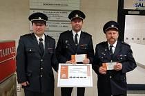 Mlázovický sbor dobrovolných hasičů získal ocenění v Brně.