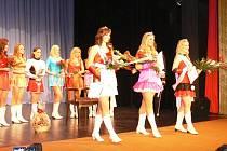 Z finále soutěže Mažoretka roku 2010 v Lomnici nad Popelkou.