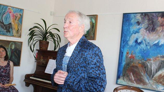 Zahájení výstavy Michaila Ščigola v Železnici