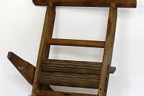 Stroj na výrobu vlnitého plechu na valchy pro praní kdysi.