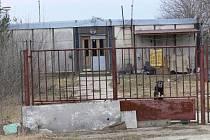 Ubytovna v Čejkovicích.