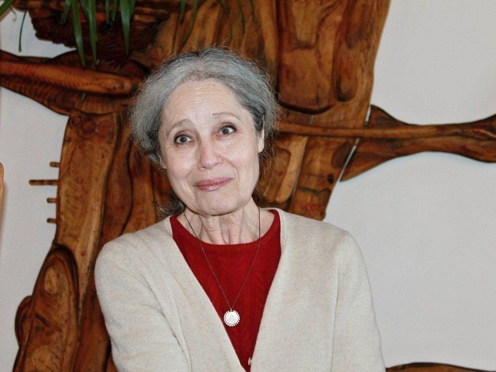 Beseda s Táňou Fischerovou v Libáni.