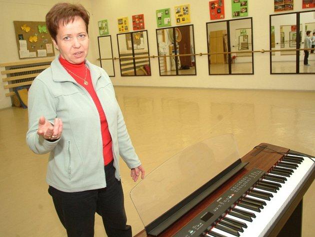 Učitelka a choreografka Eva Černochová.