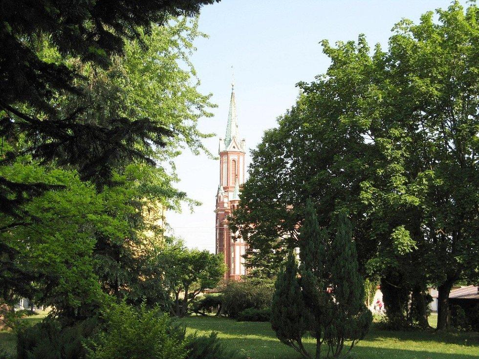 Kostel ve Vidnavě.