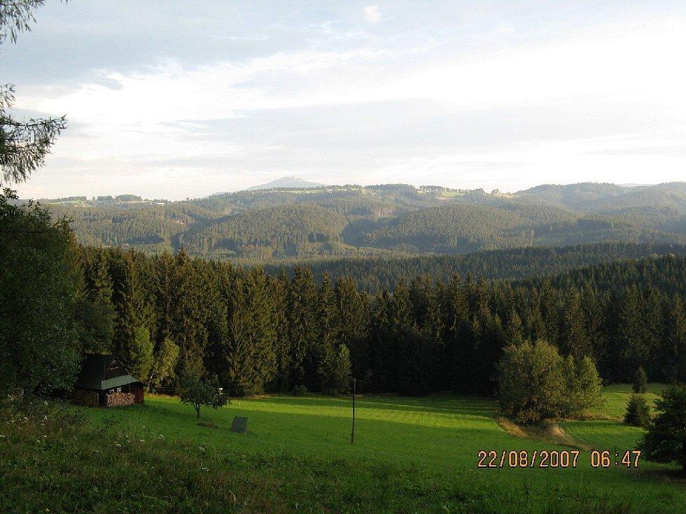 Lysá Hora, z trasy Doroťanka - Bumbálka.