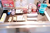 Zloději v obchodech jsou schopni ukrást neuvěřitelné množství zboží.