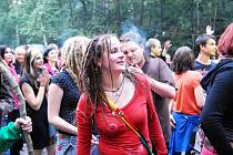 Reggae festival v hořickém lomu.