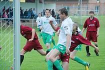 Okresní fotbal Železnice - Milíčeves.