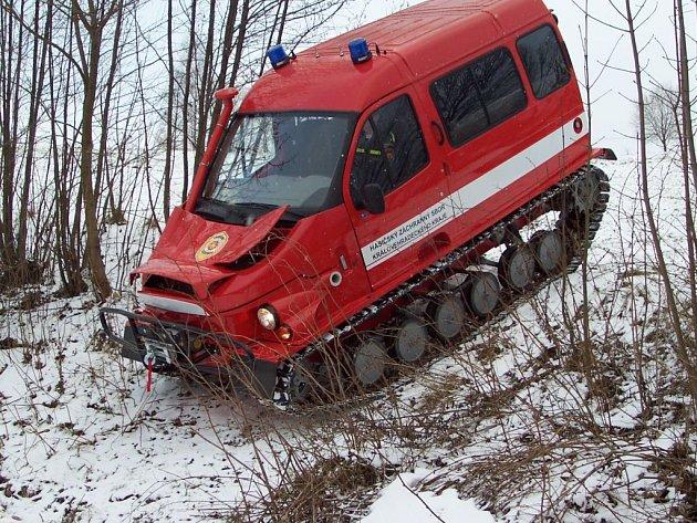 Nová technika hasičů.