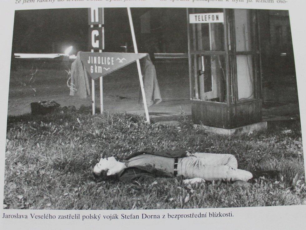 Oběti okupace - Jaroslav Veselý.