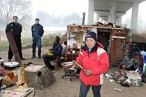 Jičínští bezdomovci jako Soňa jsou se svým životem spokojeni.
