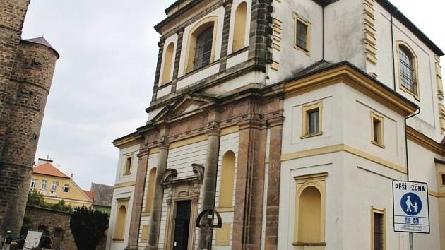 Kostel sv. Jakuba Většího v Jičíně.