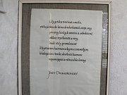 Vojtěch Záveský se živí kamenorytectvím od roku 1977.