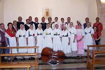 Folklorní soubor Hořeňák v Itálii.