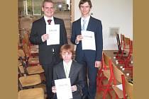 Vítězní studenti.