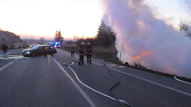 Dopravní nehoda Na Špici