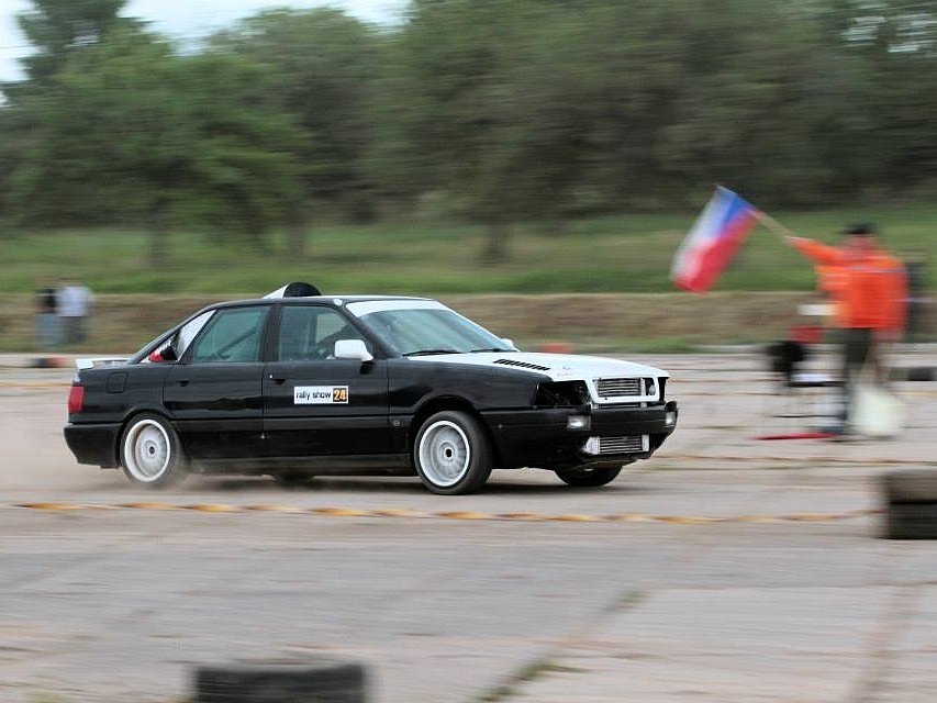 Rally show Nemyčeves.