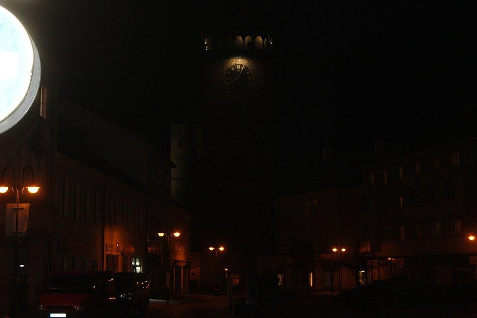 Toulky nočním Jičínem