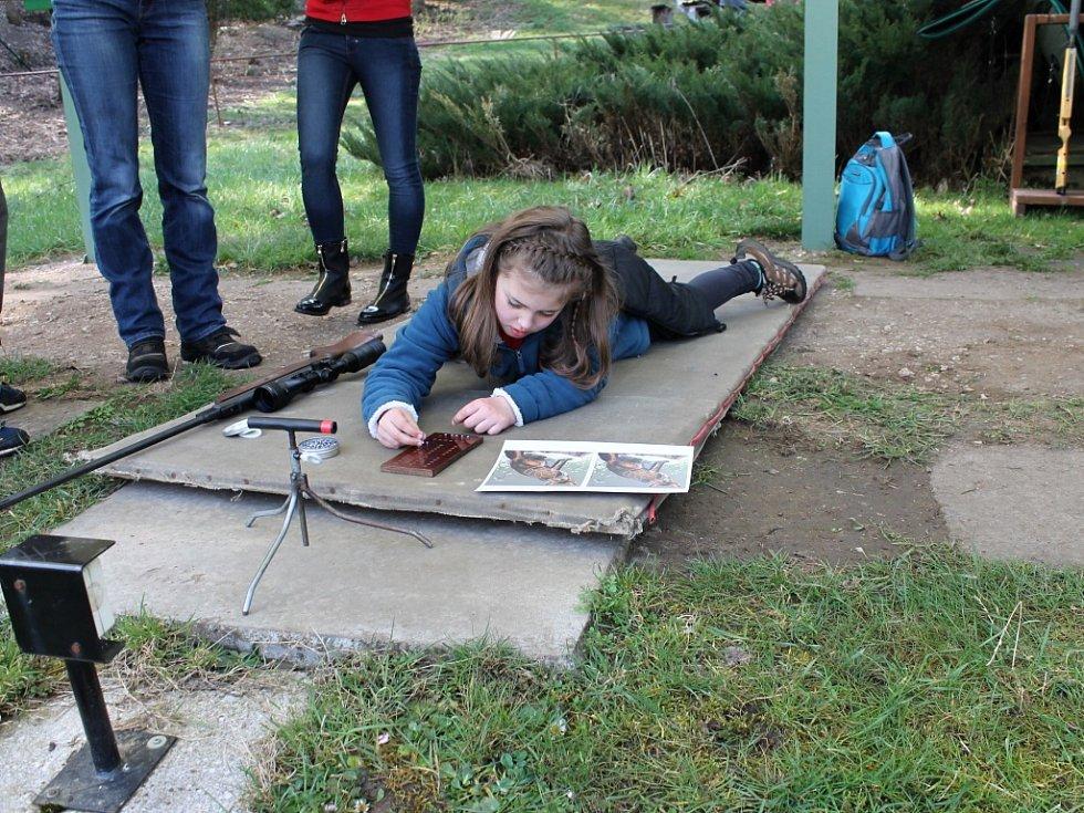 Střelecká soutěž mládeže pod Zebínem.