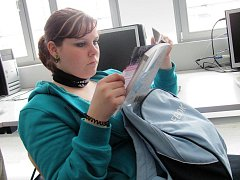 Kopidlenské studentky na praxi v Bavorsku.