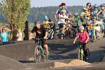 Bělohradský pump park, dráha pro horská kola v Horní Nové Vsi.