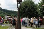 Sjezd rodáků Hlásné Lhoty spojený se svěcením zvoničky.