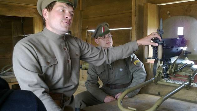 S legiovlakem se seznámili také hořičtí školáci.