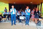 Z letního koncertu Táboranky na Samšině.