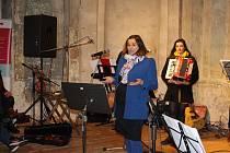 V jičínské Valdštejnské lodžii se uskutečnil benefiční koncert spojený s křtem CD Cesta Petry Alby.