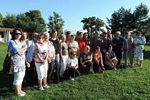 Ze setkání bývalých železnických zaměstnanců a pacientů.
