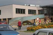 Areál hořického domova důchodců.