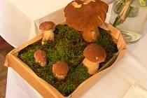 Co takhle vytvořit z hub podobné zátiší?