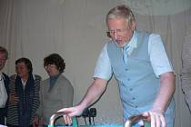 Koncert Tomáše Pfeiffera s Vodnářským zvonem.